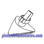 Suceur Triangulaire pour Aspirateur Rowenta