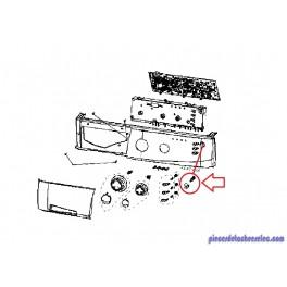 Touche de Sélection QT4  pour Lave-Linge FFH1207 Fagor