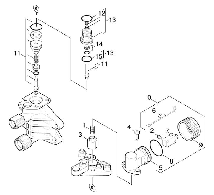 Limiteur de pression k 630 m pi ces d tach es elec - Pieces detachees karcher ...